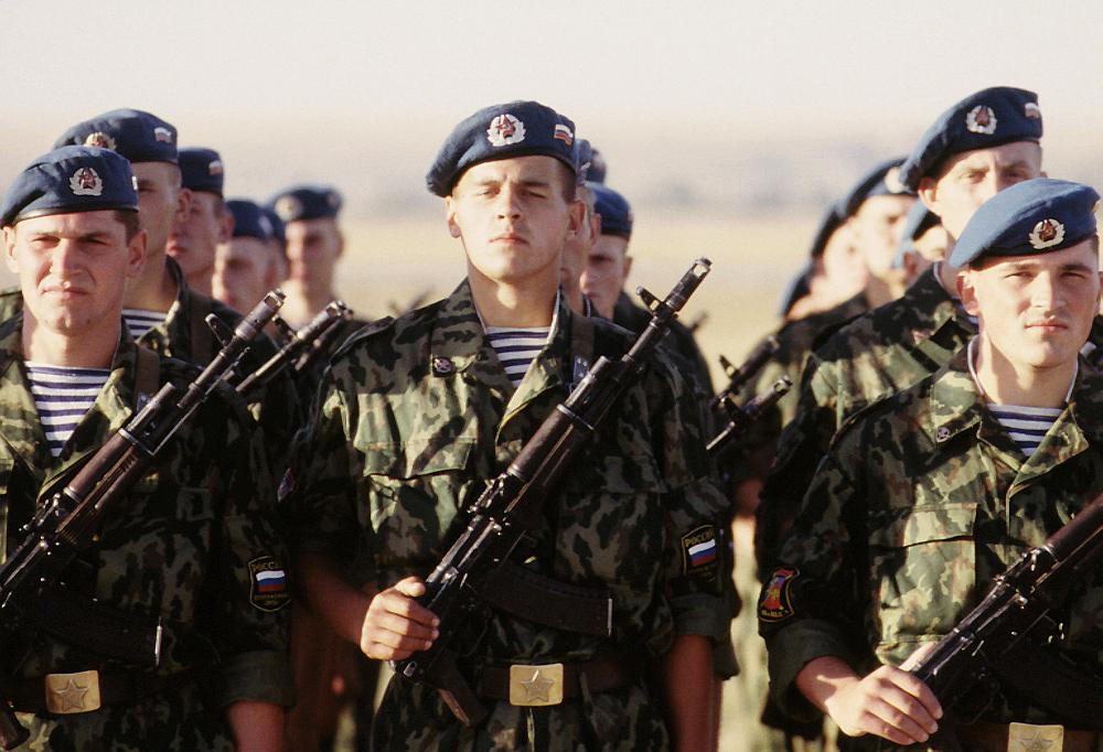 Soldats parachutistes russes via Google images Cc