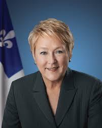 Pauline Marois, ex première ministre du Québec. Via Google images Cc